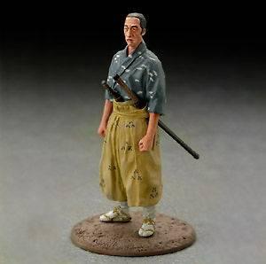 Seven Samurai Figure #06 Kyuzo Akira Kurosawa Japan Import Rare color