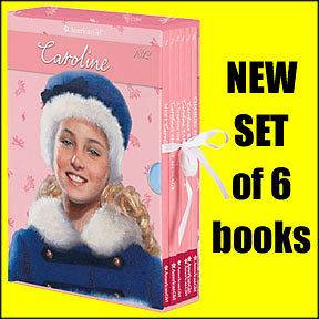 NEW Caroline Abbott Set of 6 Books American Girl Meet Change for