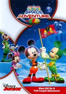 Mickey Mouse Clubhouse Space Adventure DVD, 2011, 2 Disc Set, Includes
