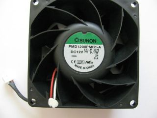 Sunon PMD1208PMB1 A 12V DC 9.1W Brushless Fan NEW