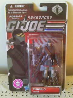 JOE.RENEGADES  FIREFLYSABOTEUR. ACTION FIGURE