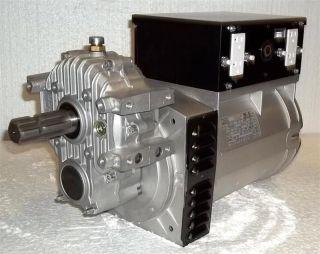 Driven MeccAlte 12000/13750 Watt Generator Head With Outlets #PTO12