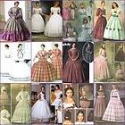 Victorian Civil War Dress GWTW Simplicity Pattern 3727