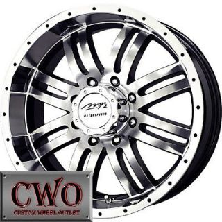 MB V Drive Wheels Rims 8x165.1 8 Lug Chevy GMC Dodge 2500 2500HD