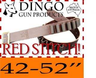 LEATHER SHOTGUN CARTRIDGE BELT ~ STANDARD 12ga 42 52