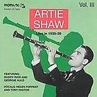 Live 1939 1939 Vol. 3 Artie Shaw CD Georgie Auld JAZZ