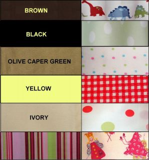 NEW twin QUEEN king PILLOW case SOLID yellow BLACK dots CHECK fairy