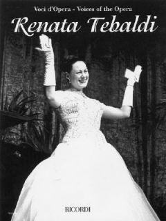 Renata Tebaldi Aria Collection with Interpretations 2004, Paperback