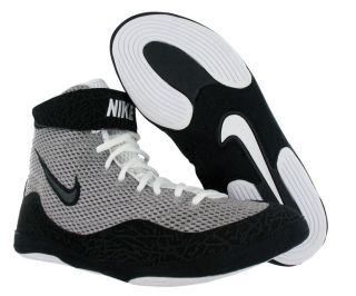 Nike Inflict Wrestling Shoes in Gray and Black 9 | Flickr - Photo