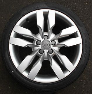 Audi A6 19 5 Double Spoke Alloy Wheel 9J 265/35 New Pirelli Tyre S