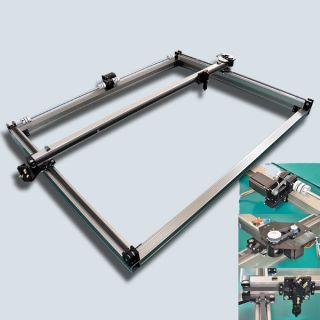 XLS12180 1200x1800 X Y Stages Table Bed for Pro DIY CO2 Laser Machine