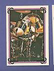 KISS 1978 Vintage Peter Criss Puffy Stickers Aucoin MIP