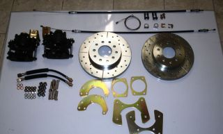 mopar 8 3/4 dana 60 rear disc brake conversion