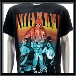 XL Nirvana Kurt Cobain T shirt Rock Band Tour Music Concert 1967 1994