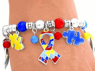 Awareness Ribbon Puzzle Asperger Cancer Kid Children Jewelry