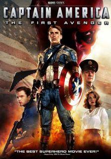Captain America The First Avenger DVD, 2011, 2 Disc Set