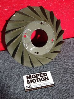 Vespa Piaggio P 125 P125 Bajaj Metal Flywheel Fan Rally/Sprint @ Moped