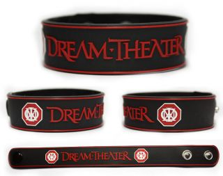 DREAM THEATER Rubber Bracelet Wristband Images and Words Awake