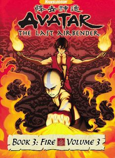 Avatar The Last Airbender   Book 3 Fire Volume 3 DVD, 2008
