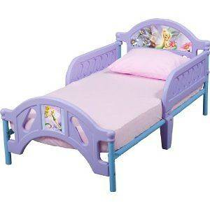 Fairies Toddler Bed Sturdy steel frame Removeble Safe Sleep rails
