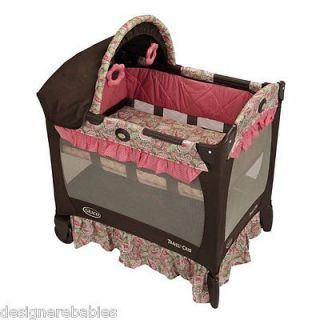 Graco Travel Lite Bassinet Playard Jacqueline ~BRAND NEW