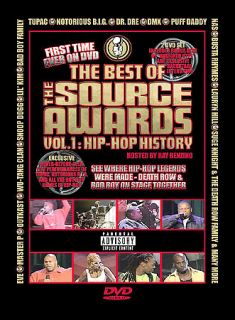Best of The Source Awards Vol. 1   Hip Hop History DVD, 2003
