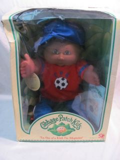 New Cabbage Patch Kids Brent Mario African American Boy Black Hair