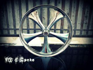 chrome custom motorcycle wheel rim 4 harley davidson harley bagger
