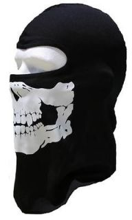 SKULL HOOD motorcycle ski balaclava FULL FACE MASK   great Christmas