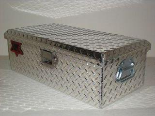 24L x 8.5H Aluminum Tote Truck ATV Trailer Tool Box