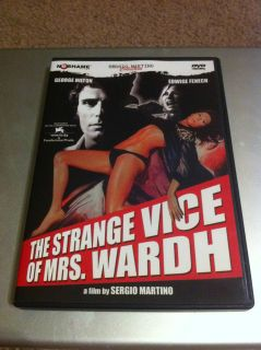THE STRANGE VICE OF MRS WARDH DVD EDWIGE FENECH UNCUT VERSION