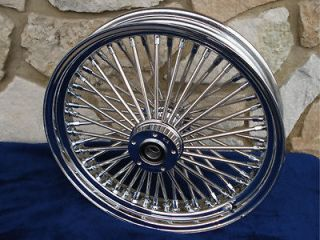 21X3 DNA MAMMOTH 52 SPOKE FRONT WHEEL FOR HARLEY TOURING BAGGER 84 99