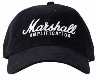 Marshall Brushed Cotton Low Profile Baseball Cap