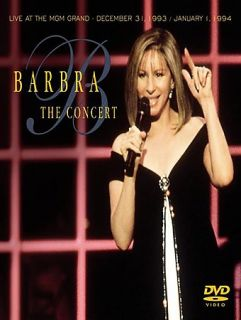 Barbra Streisand   The Concert Live at the MGM Grand DVD, 2004, Amaray