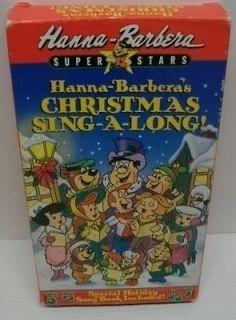 Hanna Barbra Flintstones Christmas Sing A long jet sons  Yogi bear