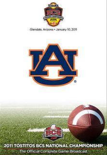 2011 BCS National Championship Auburn vs. Oregon DVD, 2011