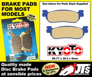 PADS BRAKE PADS SUIT YAMAHA YP250 R X Max Sport (11 12) YP250R X Max