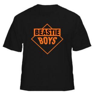 Beastie Boys Retro Rap NYC Cool Celeb NEW Black T Shirt