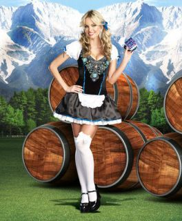 Beer ly Legal Girl Halloween Female Party German Bavarian Costume