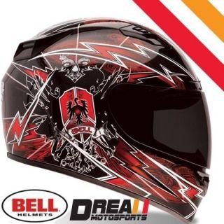 BELL VORTEX SIEGE RED FULL FACE MOTORCYCLE HELMET DOT SNELL  XXLARGE
