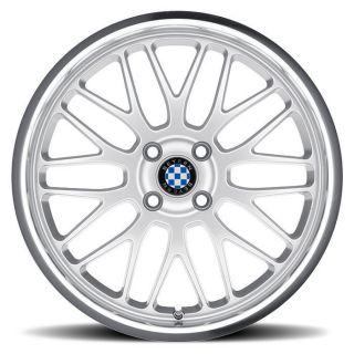 Fits All BMWs Beyern Mesh Silver Wheels 5x120 BMW 18 Wheel