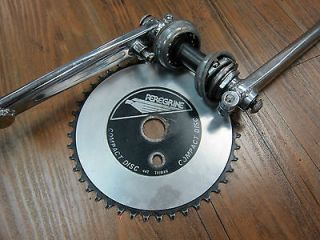 Old School BMX Freestyle PEREGRINE Cranks 180mm COMPLETE Haro, Hutch