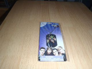 BIG TIME RUSH 3D NECKLACE NEW NICKELODEON GREAT PICTURE OF THE BAND