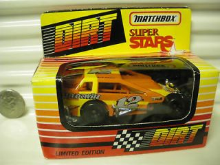 RARE SERIES 2 DIRT MODIFIED RACE CAR #12A JACK JOHNSON MINT BOXED