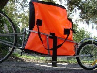 Single Wheel Bicycle Cargo Trailer & Water Resist Bag