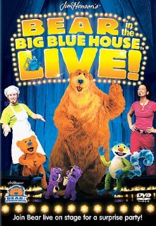 Bear In the Big Blue House   Live DVD, 2003