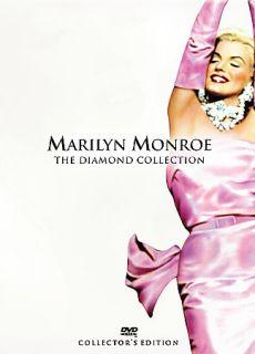 Marilyn Monroe The Diamond Collection Volume 1 DVD, 2005, 6 Disc Set