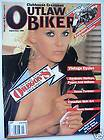 OUTLAW BIKER APRIL 1988 MORGAN FAIRCHILD TRIBAL TATS