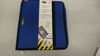 New fashion blue 3 Ring APEGO school Zipper Binder 1.5 Coupon