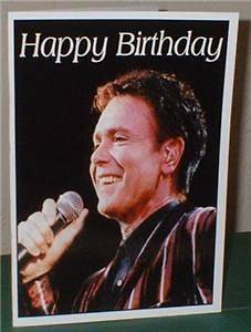 Cliff Richards Personalised Birthday Greeting Card C24